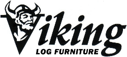 Viking Log Furniture Logo